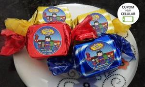 Evelyn Sweet Cake: 30, 50, 80 ou 100 bolos-bombom personalizados com a Evelyn Sweet Cake –- Ceilândia