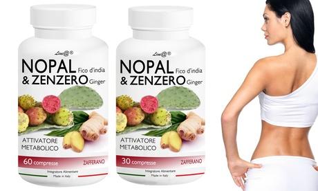 Cápsulas de nopal y jengibre para ayudar a proteger el metabolismo