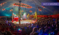 Zippos Circus, 14 June - 2 July at Three Locations (Up to 50% Off)