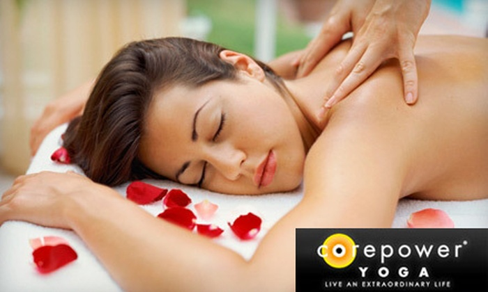CorePower Yoga & Spa – Woodbury & Edina - Multiple Locations: 75-Minute Rejuvenation Massage, 75-Minute Facial, or Both at CorePower Yoga & Spa (Up to 51% Off). Two Locations Available.
