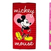 Disney's Mickey Mouse or Minnie Mouse 100% Cotton Beach Towels