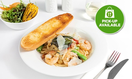 Takeaway Pasta and Rice Combo for 2 ($29) or Great OZ St James Combo for 2 ($79) at St. James Crabhouse and Grill