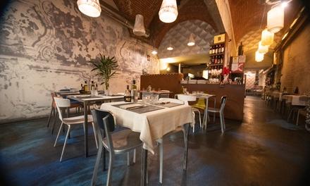 Industria: Menu gourmet di stagione a 34,90€euro