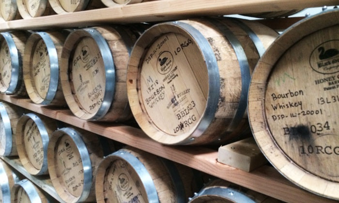 Quincy Street Distillery - Quincy Street Distillery - Chicago Suburbs: $20 for a Distillery Tour for Two with Two Glencairn Glasses at Quincy Street Distillery ($44 Value)