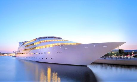 London: Yacht Classic Room for Two with Breakfast at The 4* Sunborn Hotel from The Sunborn Hotel