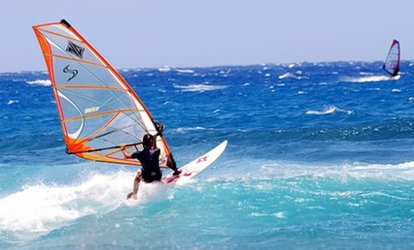 Windsurfing, Kayaking, Sailing or Stand-Up Paddleboarding Lesson for Two or Four at Fingal Adventure Centre (50% Off)