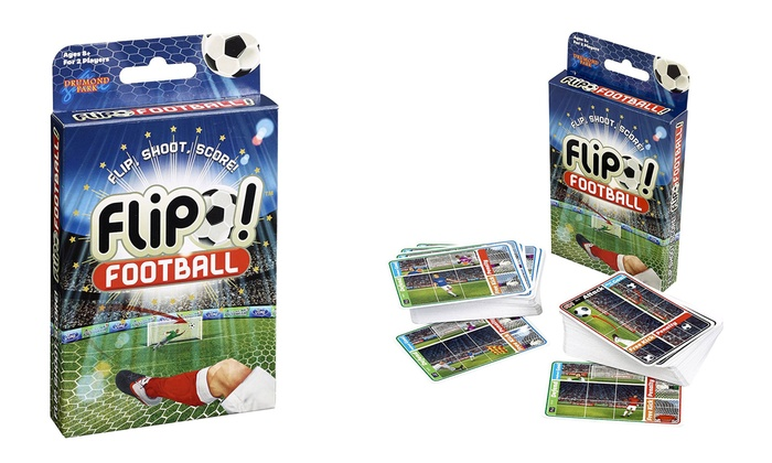 Drumond Park Jeu De Cartes Football Flip