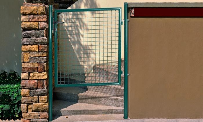 Portail de clôture en grillage galvanisé   Groupon Shopping 9aa9f527ce92