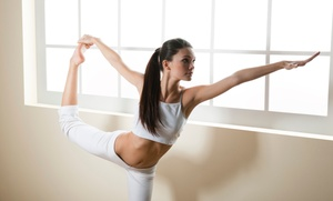 Cape Fear Dance Theatre: 5 or 10 Private Yoga-and-Pilates Combo Classes for One or Two at Cape Fear Dance Theatre (Up to 78% Off)