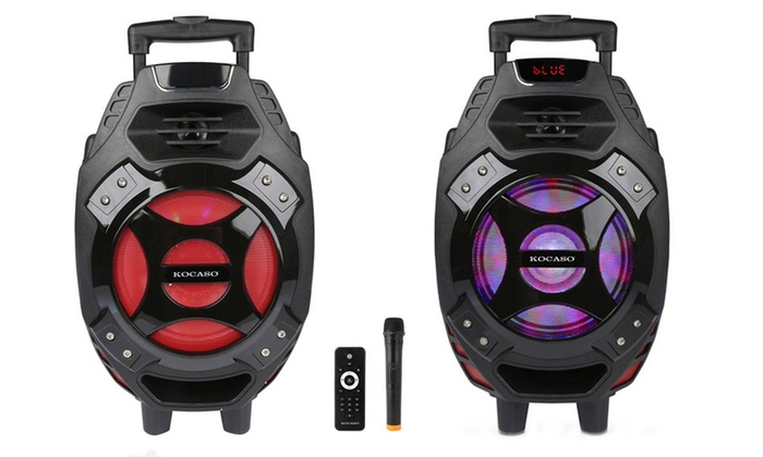 Up To 35% Off on KOCASO Portable Party Speaker | Groupon Goods