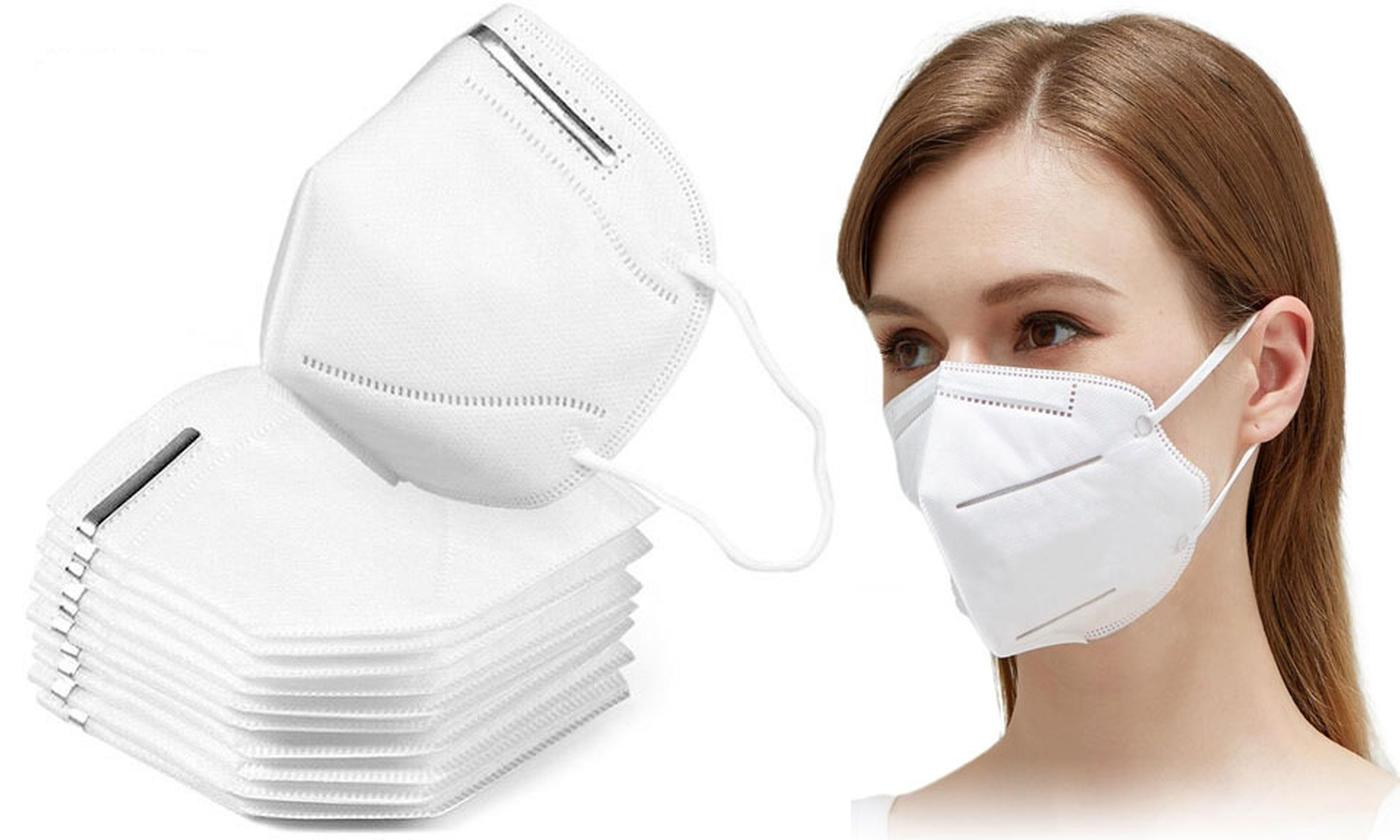 Five or Ten Disposable K95 Face Masks