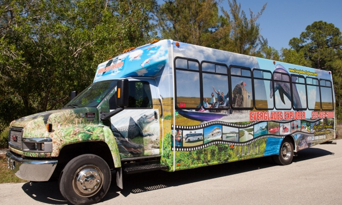 Dolphin Transportation Specialists - Central Naples: Everglades Tour Package for One or Two from Dolphin Transportation Specialists (Up to 41% Off)
