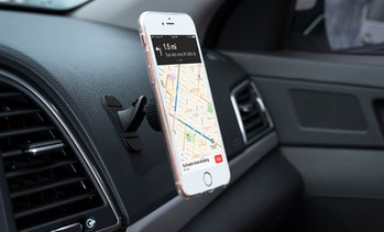 LAX Magnetic Stick-On Dashboard Car Mount for Smartphones