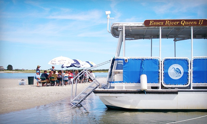 Essex River Cruises and Charters - River Essex Cruises: Four-Hour Cruise and Beach Clambake from Essex River Cruises and Charters on June 15 or September 14 (51% Off)
