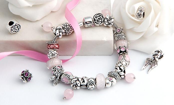Bracelet Charms de la marque Mestigé orné de cristaux Swarovski® à 16,98€, livraison offerte (79% de réduction)