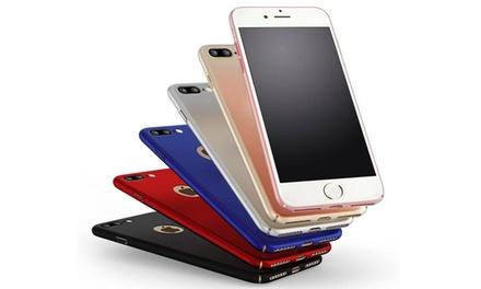 Cover Luxury per iPhone 6/6s, 6 Plus/6s Plus, 7 e 7 Plus disponibili in 5 colori