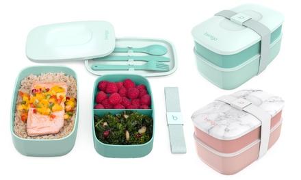 Bentgo Classic Stackable Lunch Box Bundle