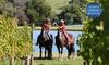 Horseback - Main Ridge: From $79 for Horseback Winery Tour with Horseback (From $130 Value)