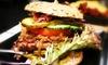 Kanadisches Burger-Menü nach Wahl