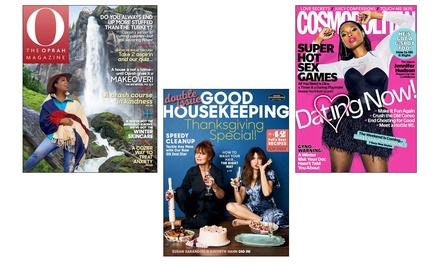 One-Year Magazine Subscription from Hearst Magazines (87% Off). Multiple Titles Available.