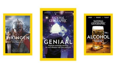 Halfjaarabonnement op National Geographic Magazine, het abonnement stopt automatisch