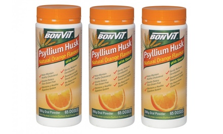Three Bonvit Psyllium Husk Packs Groupon Goods