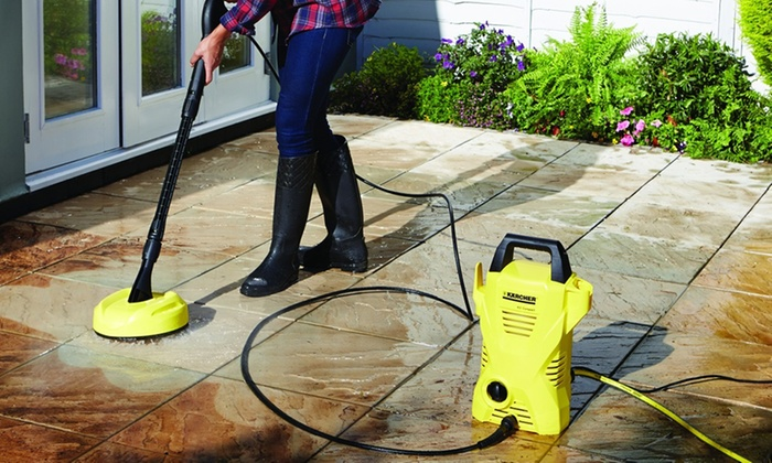 Up To 23 Off Karcher K2 Compact Cleaning Kit Groupon