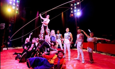 Planet Circus, Ticket for One Adult and Child or a Family of Four 27 September - 8 October in Nottingham