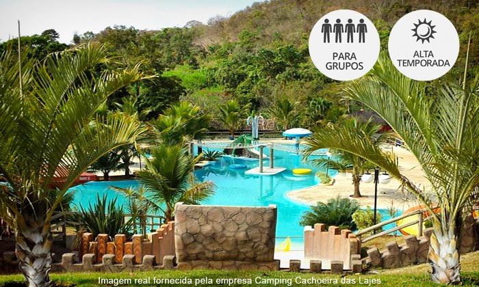 Camping Cachoeira das Lajes - Inhumas: Inhumas/GO: day use para até 10 pessoas no Camping Cachoeira das Lajes