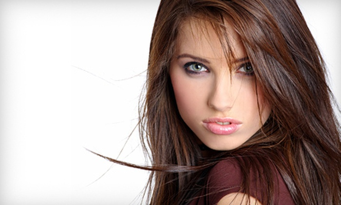 Salon 2000 & Co. - Towne Centre Village: Haircut and Style with Option for Full Color or Highlights at Salon 2000 & Co. in Mesquite (Up to 55% Off)