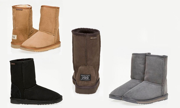 fd4004562f0 Up To 67% Off Australian Leather 3/4 UGGs | Groupon