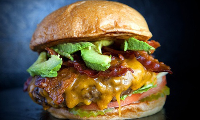 Mark's Outing - Nevada Street: Gourmet Burgers, Sides, and Drinks at Mark's Outing (Up to 40% Off). Two Options Available.