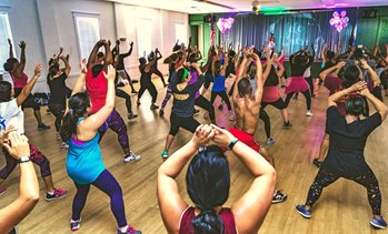 Up to 53% Off High-Intensity Dance Fitness Classes