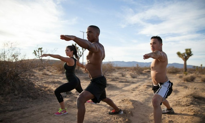 Rebellion Fitness - Multiple Locations: Five Boot-Camp Classes at Rebellion Fitness (74% Off)