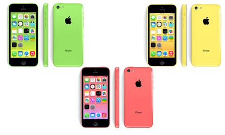 Refurbished Apple iPhone 5c in Choice of Capacity and Colour With Free Delivery