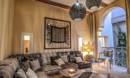 Marrakech: Up to7 Nights for Two with Breakfast, Moroccan Dinner, Mint Tea and Pastries at Ayni Riad