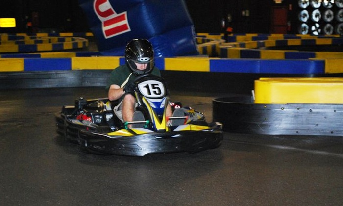 Miramar Speed Circuit - Miramar: One or Two Go-Kart Races with Optional Laser Tag Games at Miramar Speed Circuit (Up to 45% Off). Three Options.