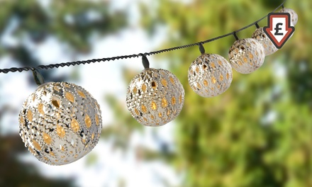 One or Two Sets of 12 Solar LED Lights in Choice of Design