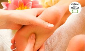 Faces e Perfil Estética: Faces e Perfil Estética – Vila Diniz:1 ou 2 visitas com spa dos pés (opção com esfoliação corporal)