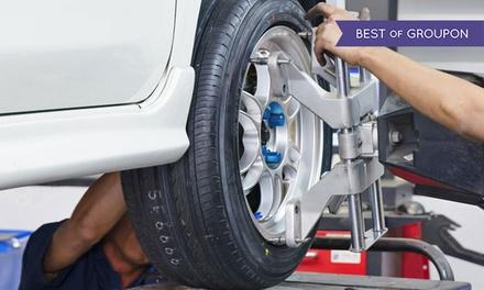 Smontaggio e montaggio gomme e check up auto
