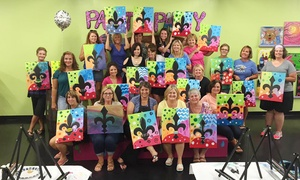 Masterpiece Mixers - Louisville: Two-Hour  Painting Class for One or Two at Masterpiece Mixers (32% Off)