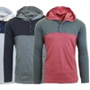 Galaxy By Harvic Men's Cotton-Blend Long Sleeve Pullover Hoodie