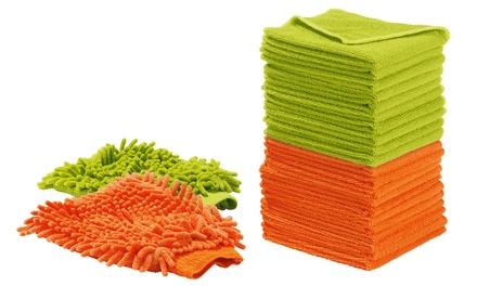22-teiliges Mr. Maxx Antibakterielles Mikrofaser-Reinigungsset (50% sparen*)