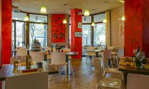 Selva delle Torri: Menu di 4 portate alla carta con tagliata e vino per 2 persone al ristorante Selva delle Torri (sconto fino a 73%)