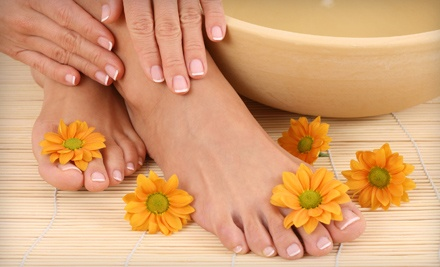 One or Two Basic Mani-Pedis or One Spa Mani-Pedi at Unique Creations Therapeutic Day Spa (Up to 55% Off)