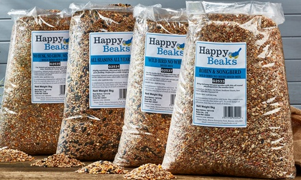 Happy Beaks Bird Seed Selection