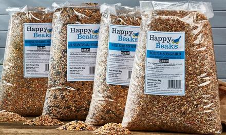 Happy Beaks Bird Seed Selection