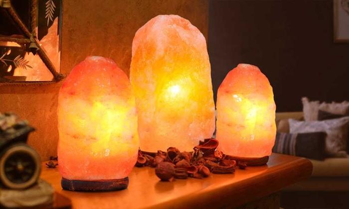 Himalayan Crystal Salt Lamp from £12.98