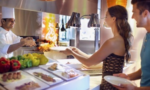 Choices Restaurant: Lunch Buffet with Drinks and Pool Access for Up to Eight at Choices - Yas Island Rotana (Up to 69% Off)