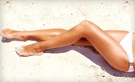 One or Two Brazilian Waxes at Champagne Skin Lounge (Up to 50% Off)